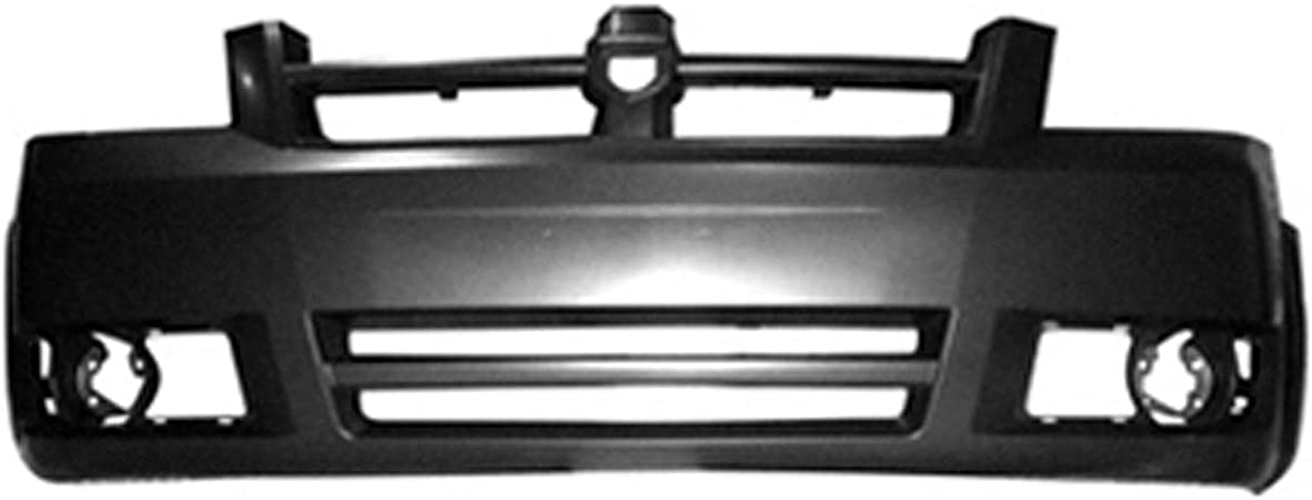 OE Replacement 2008-2010 Dodge Caravan Bumper Cover Partslink Number CH1100905