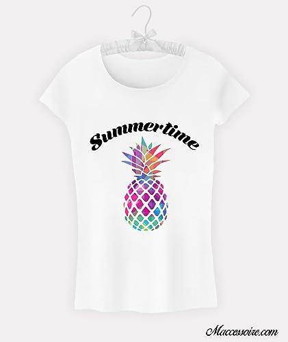 Amazone Shirt Femme Ananas Femme Amazone T Ananas T Shirt 8OwnmvN0
