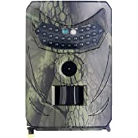 LOVONLIVE Câmera de caça, Ao Ar Livre 12MP Novo Detector de Animais Selvagens Câmeras HD Monitoramento Impermeável…