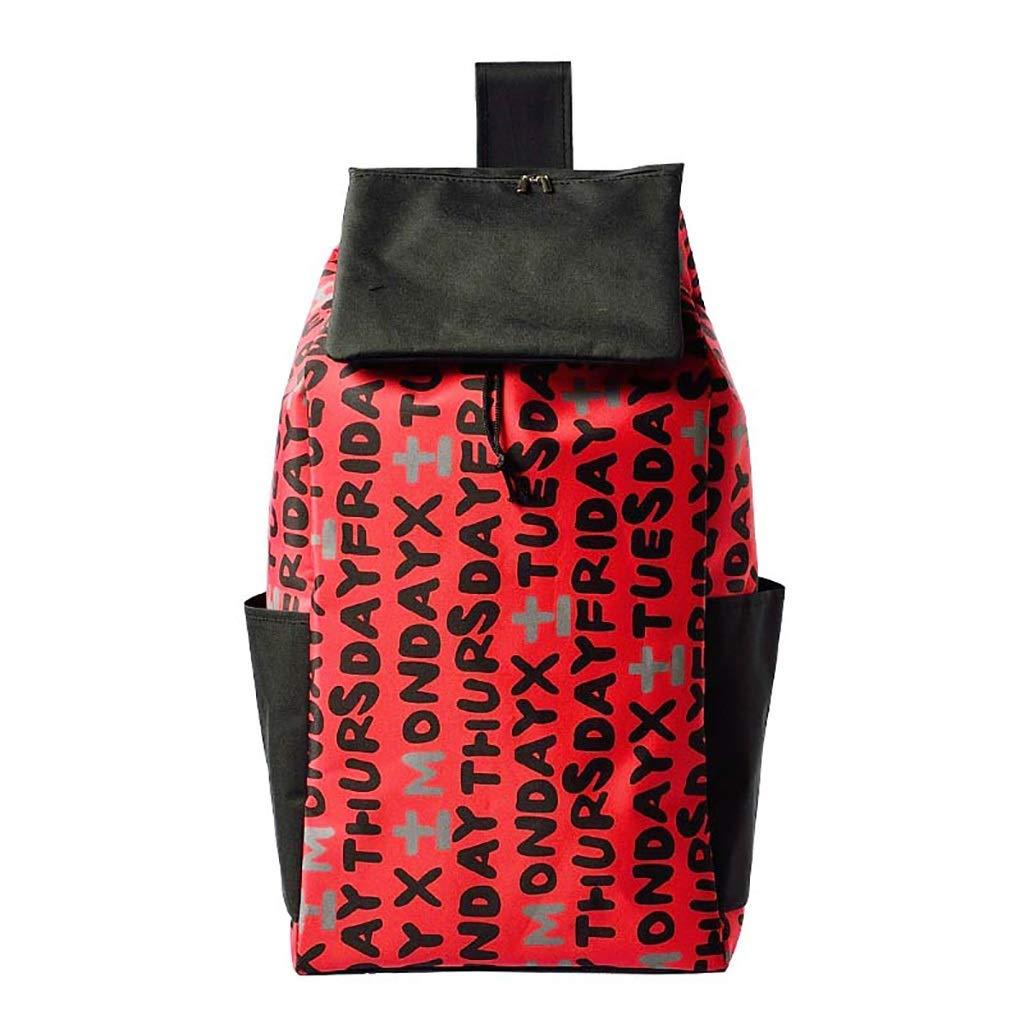 Fkdebag Carrito de Compras Bolsa de reemplazo de Carrito de la Compra 40L Bolsa de Carrito de la Compra con Bolsillo con Cremallera de Repuesto para Carrito Color : #6