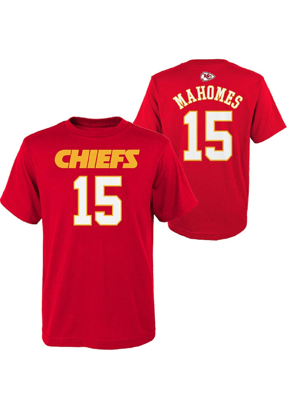 d04e89c15b5 Outerstuff Patrick Mahomes Kansas City Chiefs NFL Youth 8-20 Red ...