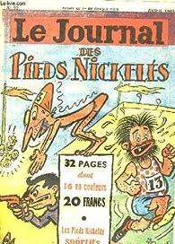 Le journal des pieds nickelés n°10 : les pieds nickelés sportifs - le coin dans le chêne - la merveilleuse rançon, par d'orgeval ... par René Pellos