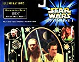 Glow-In-The-Dark Jedi Action Wall Scenes - Star Wars Episode I (The Phantom Menace) Amazing AuraGlow Wall Decor