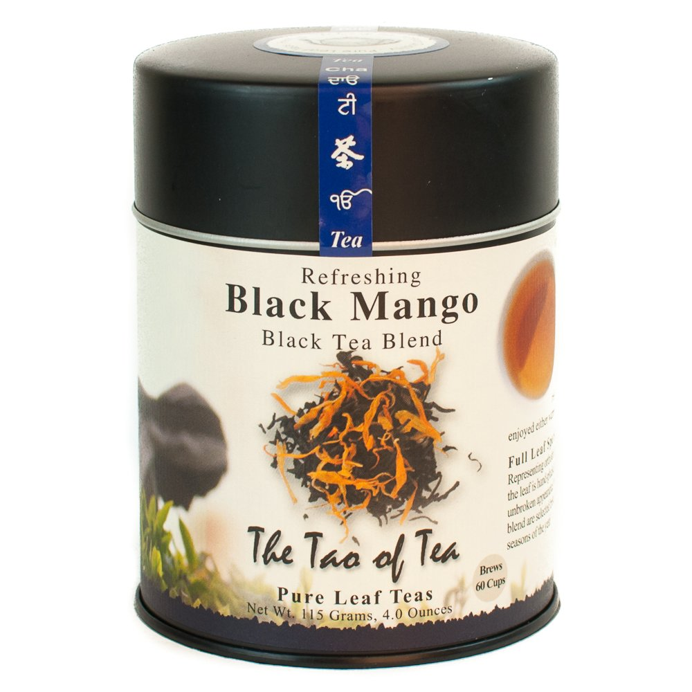 The Tao of Tea, Black Mango Black Tea, Loose Leaf, 4 Ounce Tin 4 Ounce Tin SYNCHKG027289