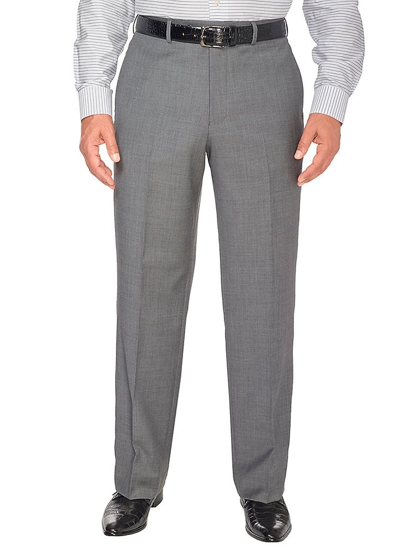 Paul Fredrick Mens Wool Gabardine Pant