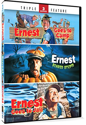 Ernest Goes to Camp / Ernest Scared Stupid / Ernest Goes to Jail (Triple Feature)]()