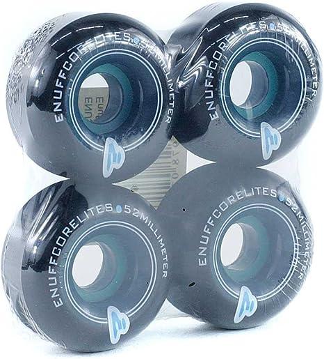 Enuff Corelite Black Skateboard Wheels Pack of 4