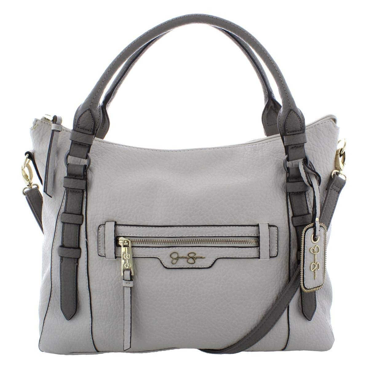 6b433223bf6 Jessica Simpson Womens Everly Faux Leather Convertible Tote Handbag ...