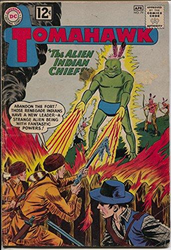 (Tomahawk #79 1962-DC-Alien horror cover rocket ship panel-rare-VG-)