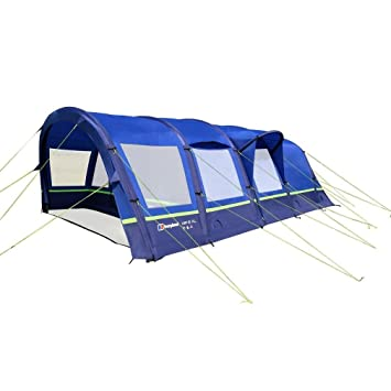23aa237f28 Berghaus Air 6 XL 6 Person Inflatable Tent  Amazon.co.uk  Sports ...