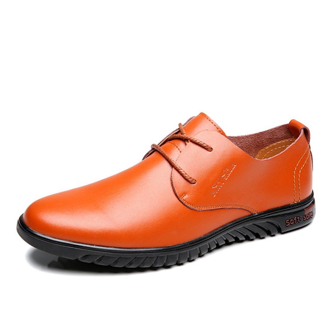 Herren Freizeit Lederschuhe Rutschfest Werkzeugschuhe Weicher Boden Formelle Kleidung Geschäft Flache Schuhe EUR GRÖSSE 38-44