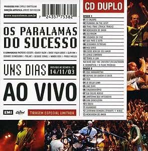 BAIXAR DO AO CD VIVO DIAS PARALAMAS SUCESSO UNS