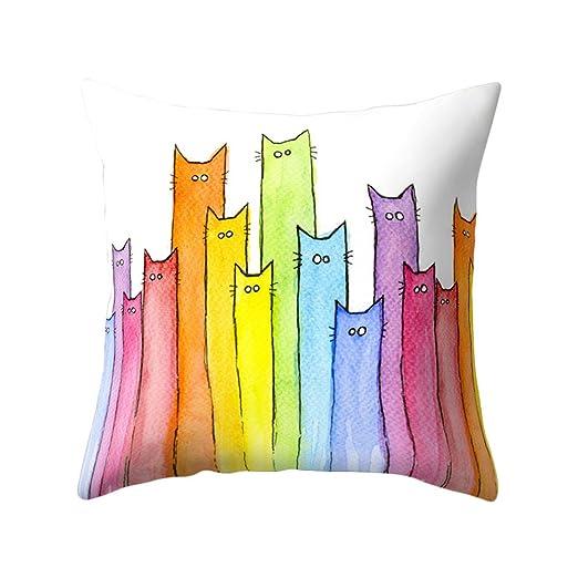 display08 carcasa diseño de gatos suave manta funda de ...