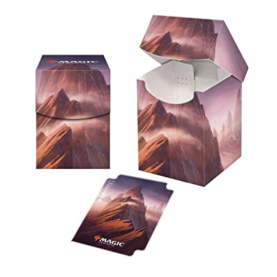 Ultra Pro ULP86834 Magic The Gathering Lands Mountain Pro 100 Plus Deck Box: Toys & Games
