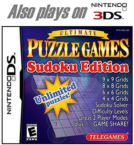Price comparison product image Puzzle Games Sudoku Edition - Nintendo DS