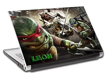 Amazon.com: TMNT Ninja Turtles Personalized LAPTOP Skin ...