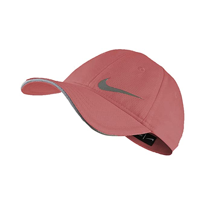 Nike Girl`s Featherlight Dri-Fit Swoosh Ponytail Slit Baseball Cap (2- 1f98f41d4ea