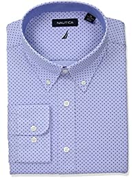 Men's Classic Fit Performance Print Button Down Collar...