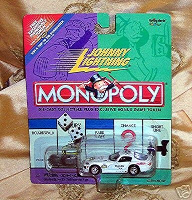 Johnny Lightning 2000 Monopoly Luxury Tax Dodge Viper Car