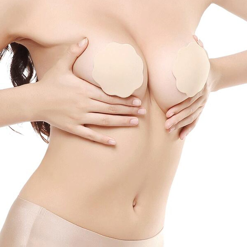 ONine Strapless Adhesive Bra Invisible Backless Push Up Bra for Women
