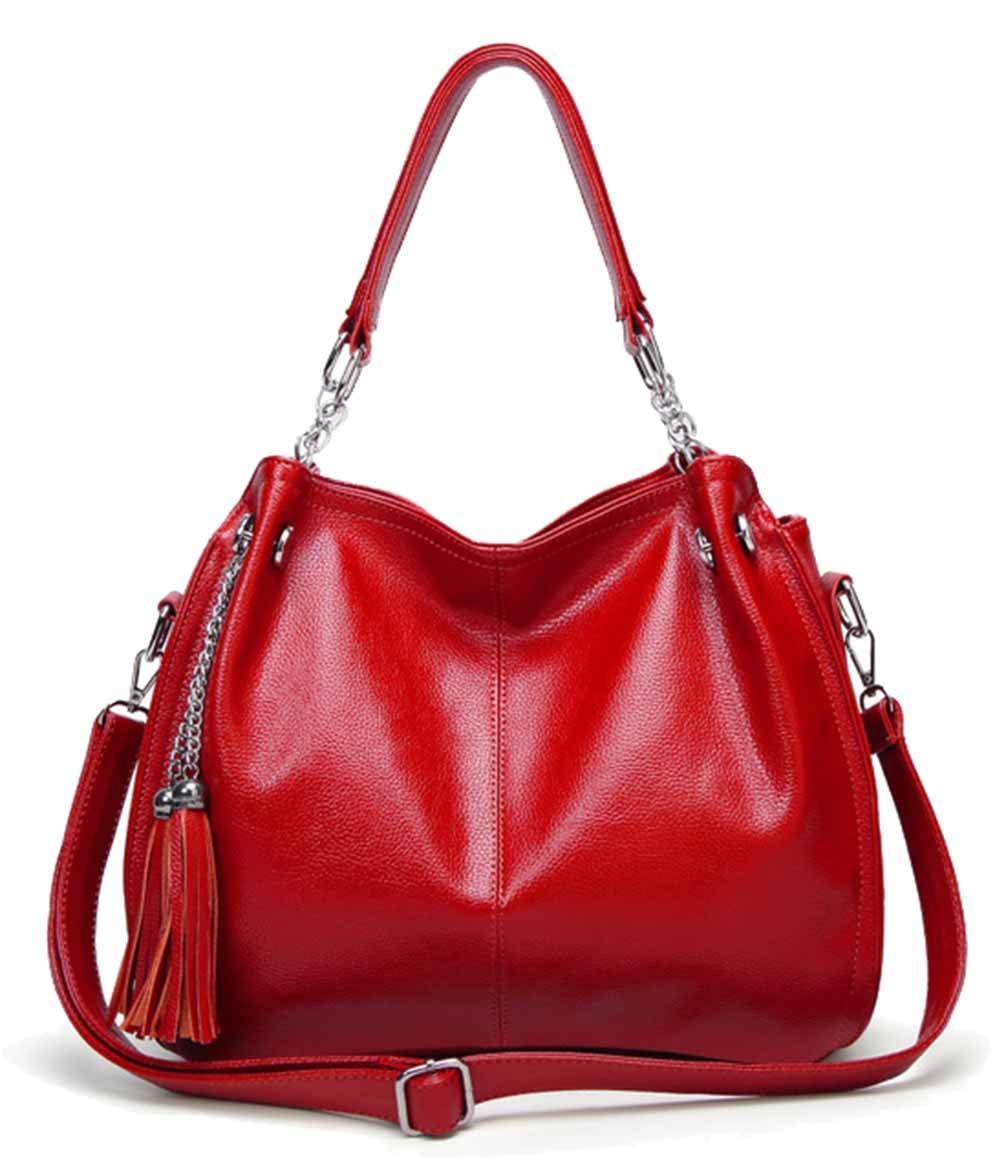 Femaroly, Damen Schultertasche Rot rot M M M B07HL7WXCM Schultertaschen Niedriger Preis 135f19