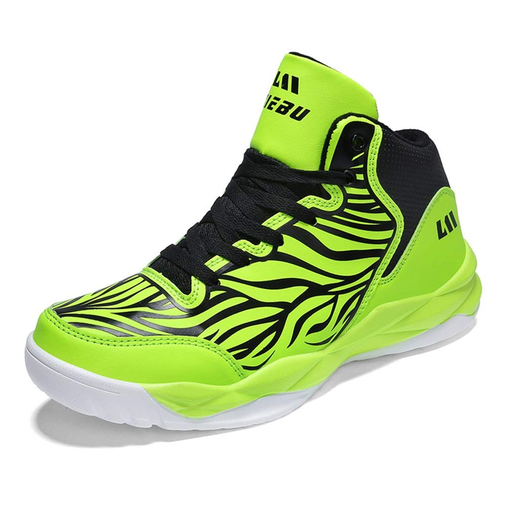 He-yanjing Womens Sneakers 2018 Autumn The Lovers High-top Sneakers Unisex Non-Slip Shock Absorbing Basketball Shoes