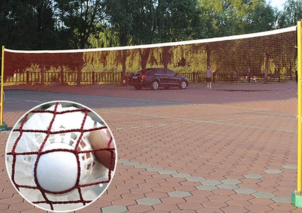YJZQ Red de Tenis port/átil est/ándar para Entrenamiento de b/ádminton Red de Voleibol y Pickleball de 20 pies