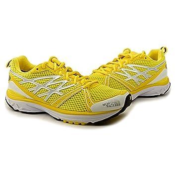 The North Face HAYASA II - Zapatillas de Running para Mujer, Solar Yellow/The