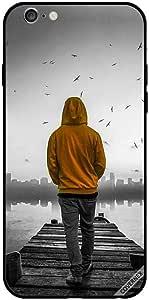 حافظة لهاتف آيفون 6 - صبي حزين يمشي