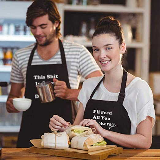 Funny Gifts BBQ Cooking Aprons
