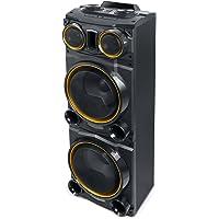 Muse M-1980 DJ PA-installatie 500 watt, met Bluetooth en lichteffecten (USB, AUX, microfoonaansluiting, FM-radio…
