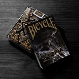 Utopia Black Gold Deck Playing Cards by Card Experiment Made By USPCC