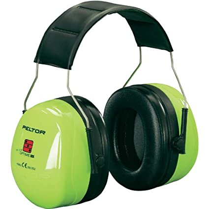 3M PELTOR Optime III 40dB casco protector de oídos - Cascos protectores de oídos (Verde