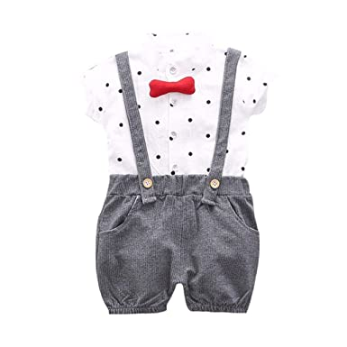 erthome Toddler Baby Kids - Conjunto de Camiseta y pantalón Corto ...