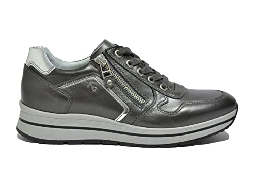 Nero Giardini - Zapatillas para mujer Gris gris 55 Gris Size: 36 s0d8FOzzq
