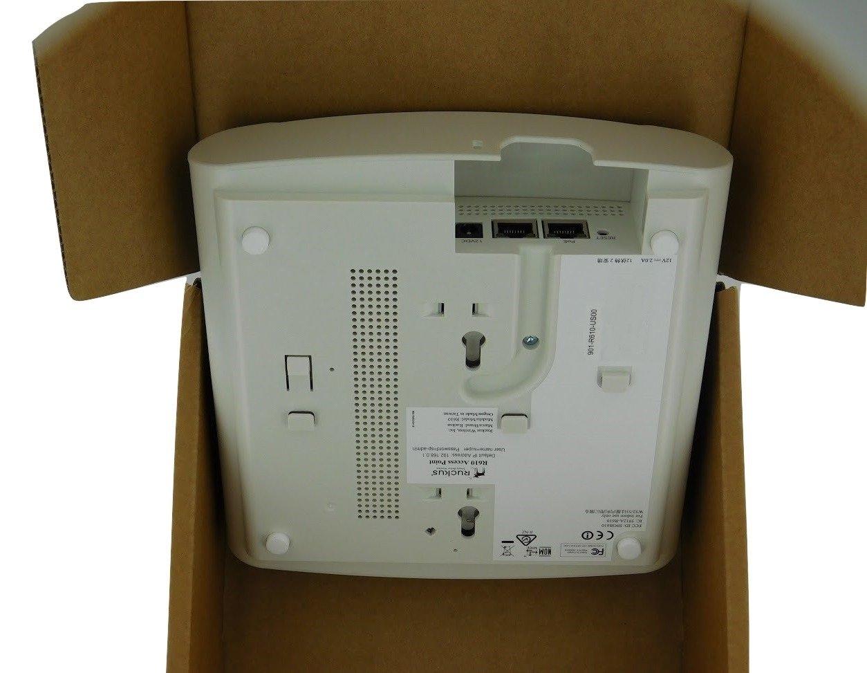 Ruckus Zoneflex R610 Wave 2 Access Point (Smart Wi-Fi 3x3, 802 11ac,  BeamFlex, Adaptive Antenna, POE) 901-R610-US00