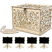 VINFUTUR 1pcs Caja para Tarjetas de Boda Caja