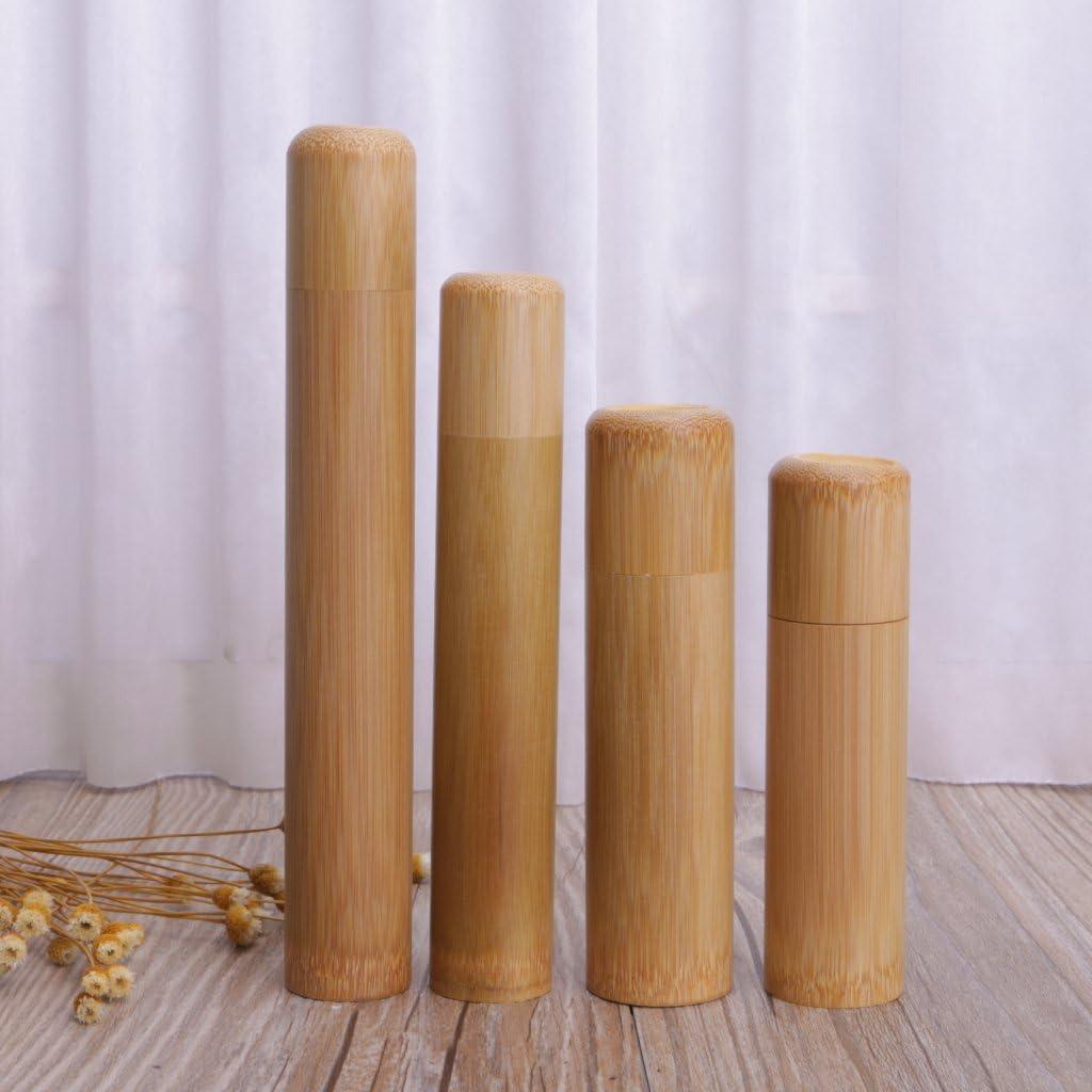 Lunji Boite de Rangement Bois Polyvalent pour Th/é /Épices Brosses /à Dents Pi/èce de Monnaie S:12x3cm