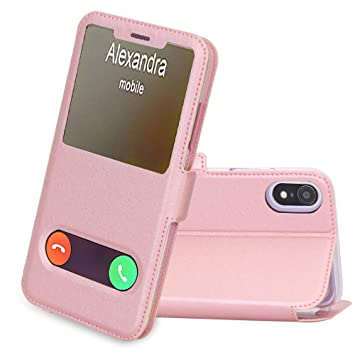 coque iphone xr femme voilee