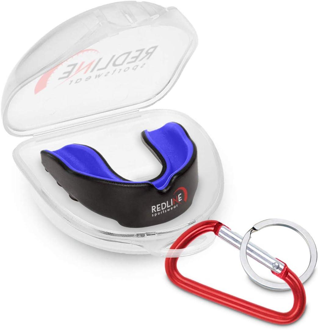 Amazon.com: Protector bucal Redline Sportswear con estuche ...