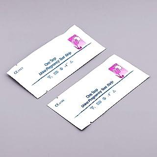 yuema Bandelettes de Test de Grossesse Ultra Early 10mIU HCG Sensitive Kit d'analyse d'urine en Une étape