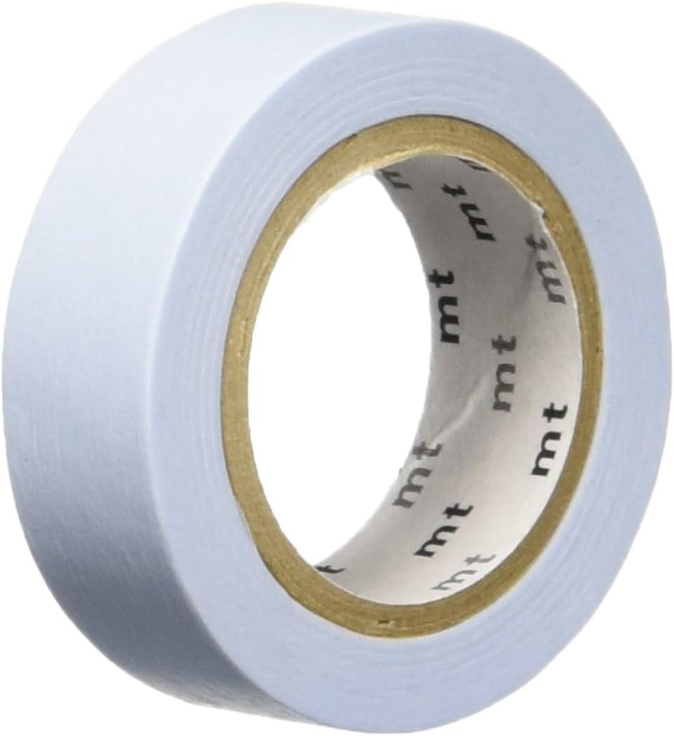 MT Masking Tape MTPASBLUE - Rollo de cinta adhesiva de 10 metros y 15 mm de ancho, color pastel azul: Amazon.es: Oficina y papelería