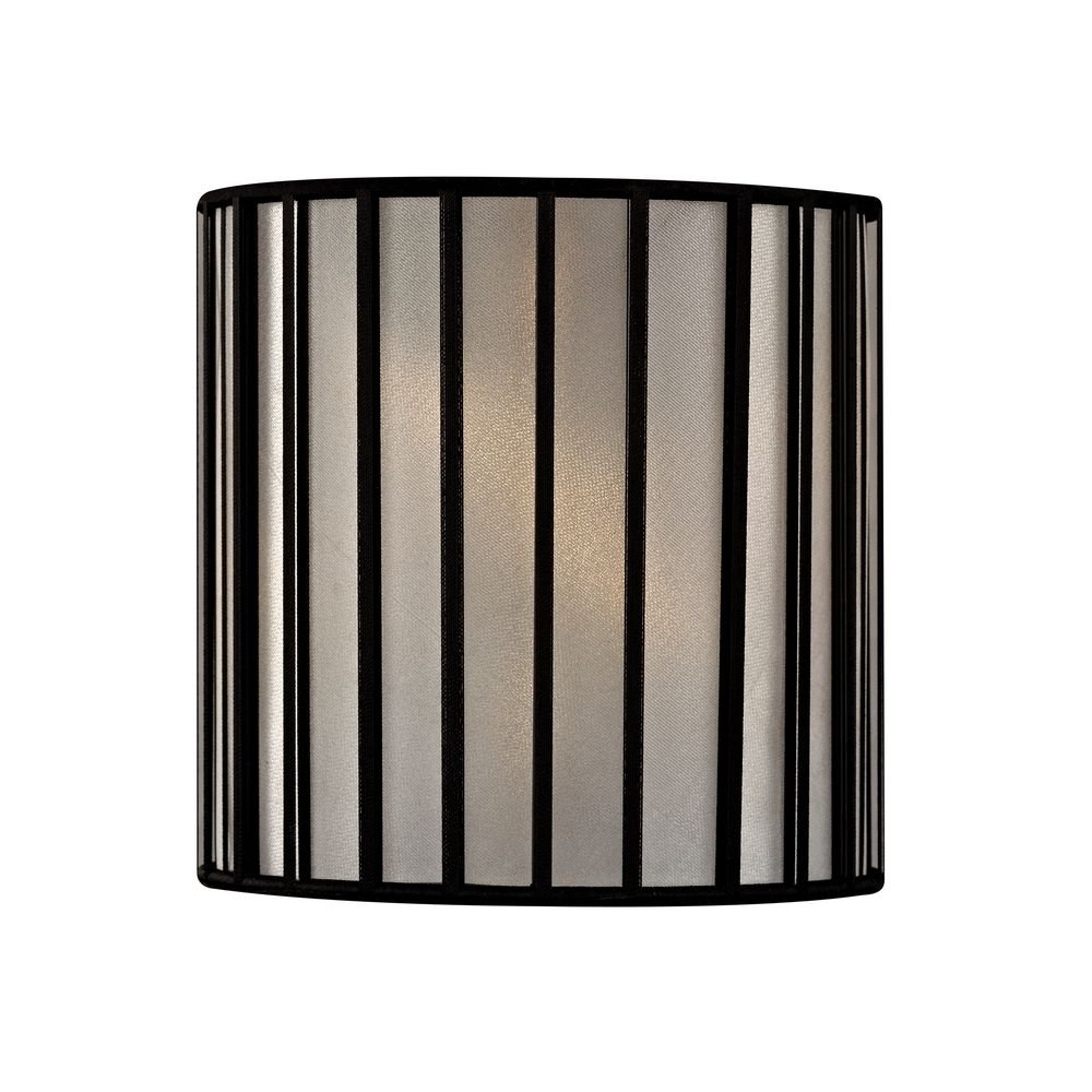 Black Drum Lamp Shade with Uno Assembly - Lampshades - Amazon.com