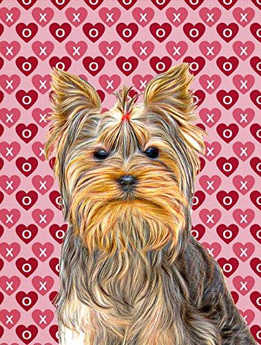 Caroline's Treasures KJ1191CHF Hearts Love and Valentine'...