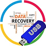 Data Recovery Undelete Lost Files Data Photos Images Word PDF Music from HDD/USB/SD Card USB