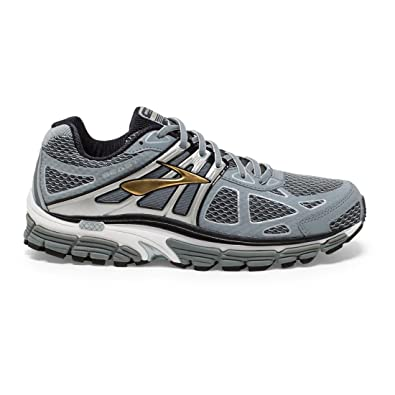 bde0a49de56c7 Brooks Men s Beast 14 Silver Black Gold Sneaker 8 4E - Extra Wide  Buy  Online at Low Prices in India - Amazon.in