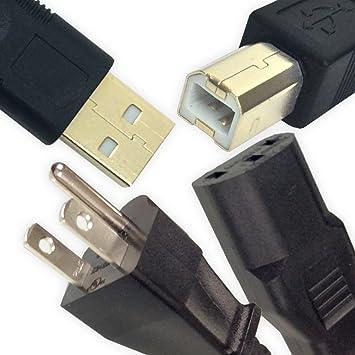 POWER Cable Cord Wall Plug for Epson Artisan 710 725 800 810 825 835 837 Printer