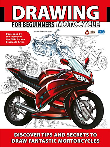 Drawing For Beginners - Motorcycle (Portuguese Edition)