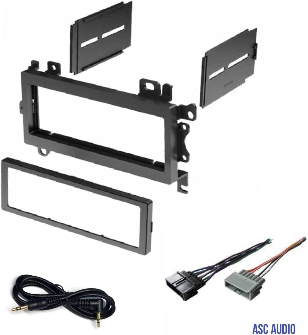 Amazon.com: Car Stereo Dash Kit and Wire Harness for Installing a New  Single Din Radio for 1997-2001 Jeep Cherokee, 1992-1998 Jeep Grand  Cherokee, 1997-2002 Jeep Wrangler: Car ElectronicsAmazon.com