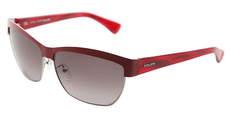 Police - Lunette de soleil - Femme Rouge Rouge  Amazon.fr  Vêtements et  accessoires 9f7fe2120025